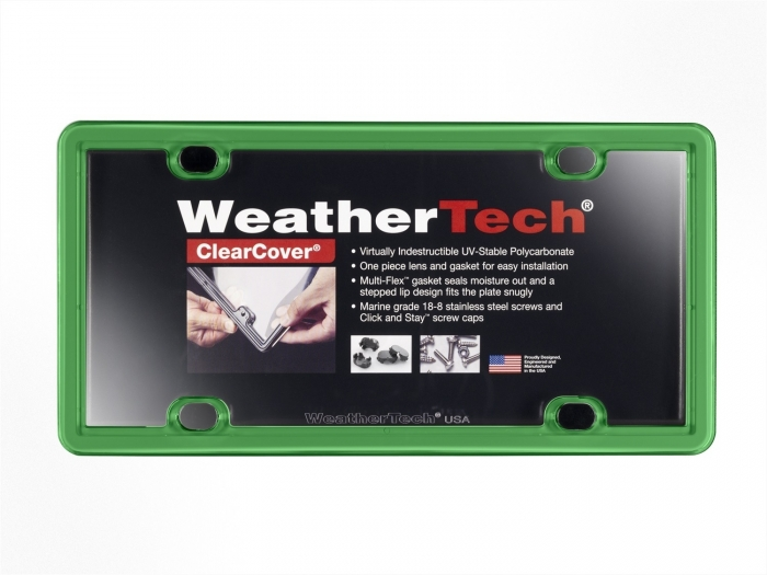 Kelly Green - WeatherTech ClearCover License Plate Cover