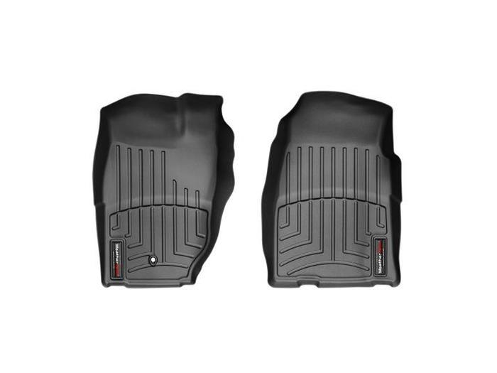 WeatherTech DigitalFit Floor Mats for 1997-2001 Jeep Cherokee [Covers Front, Black] (WEA94673)