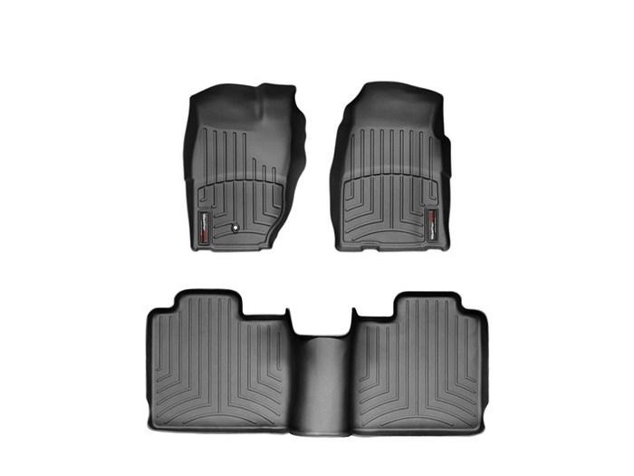 WeatherTech DigitalFit Floor Mats for 1997-2001 Jeep Cherokee [Covers Front & Rear, Black] (WEA94672)