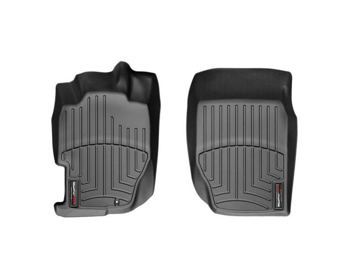 WeatherTech DigitalFit Floor Mats for 1998-2002 Honda Accord [Covers Front, Black] (WEA94723)
