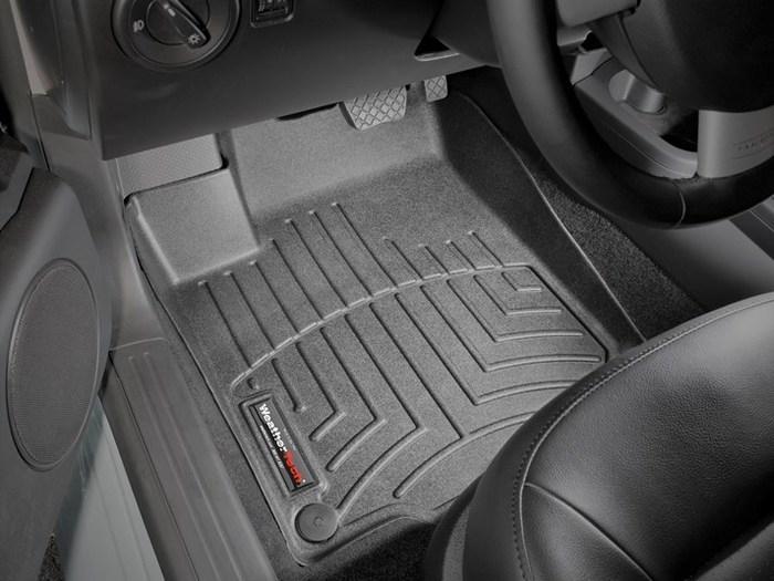 WeatherTech DigitalFit Floor Mats for 1998-2010 Volkswagen Beetle [Covers Front, Black] (WEA94664)