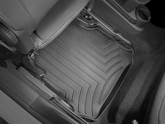 WeatherTech DigitalFit Floor Mats for 1998-2010 Volkswagen Beetle [Covers Rear, Black] (WEA94665)