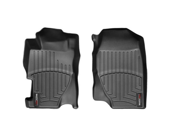 WeatherTech DigitalFit Floor Mats for 2001-2005 Honda Civic [Covers Front, Black] (WEA94720)