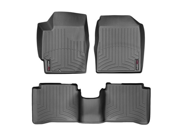 WeatherTech DigitalFit Floor Mats for 2002-2006 Nissan Altima [Covers Front & Rear, Black] (WEA94817)