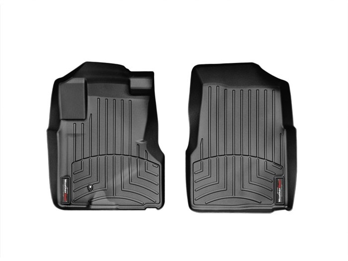 WeatherTech DigitalFit Floor Mats for 2005-2006 Honda CR-V [Covers Front, Black] (WEA94946)