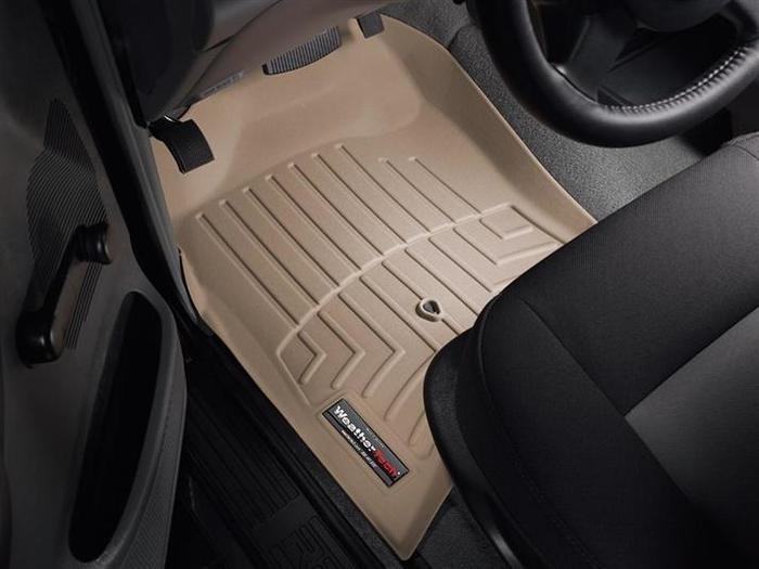 WeatherTech DigitalFit Floor Mats for 2005-2011 Ford Ranger [Covers Front, Tan] (WEA95812)
