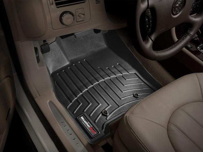 WeatherTech DigitalFit Floor Mats for 2006-2011 Buick Lucerne [Covers Front, Black] (WEA94814)