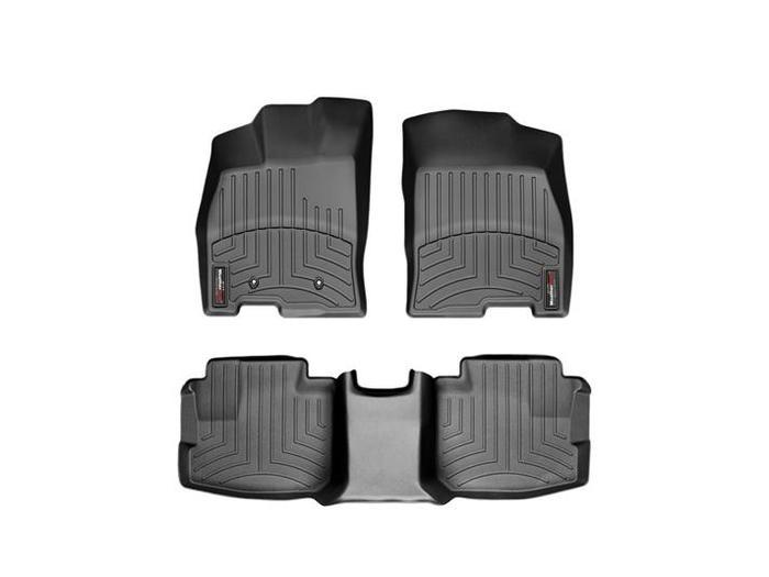 WeatherTech DigitalFit Floor Mats for 2006-2011 Buick Lucerne [Covers Front & Rear, Black] (WEA94813)