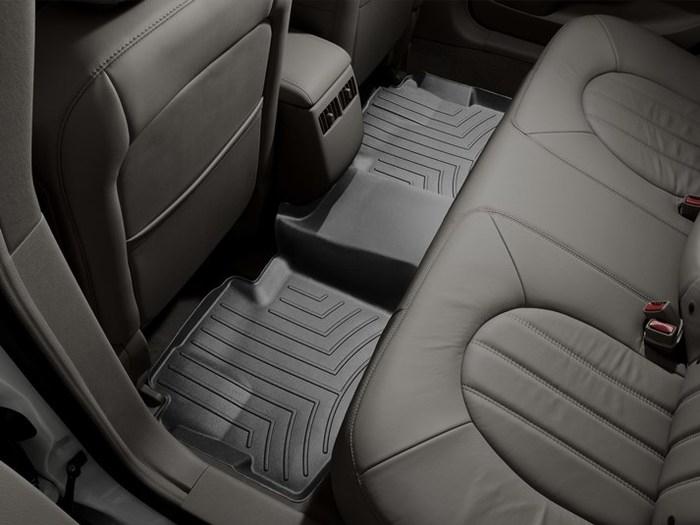 WeatherTech DigitalFit Floor Mats for 2006-2011 Buick Lucerne [Covers Rear, Black] (WEA94815)