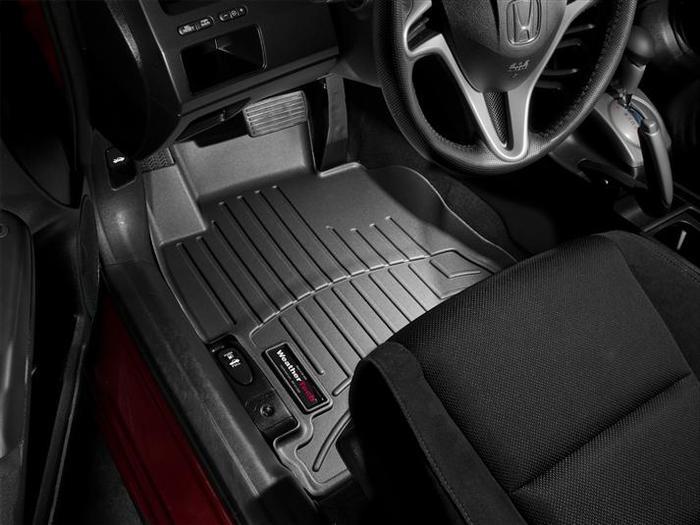 WeatherTech DigitalFit Floor Mats for 2006-2011 Honda Civic [Covers Front, Black] (WEA94969)