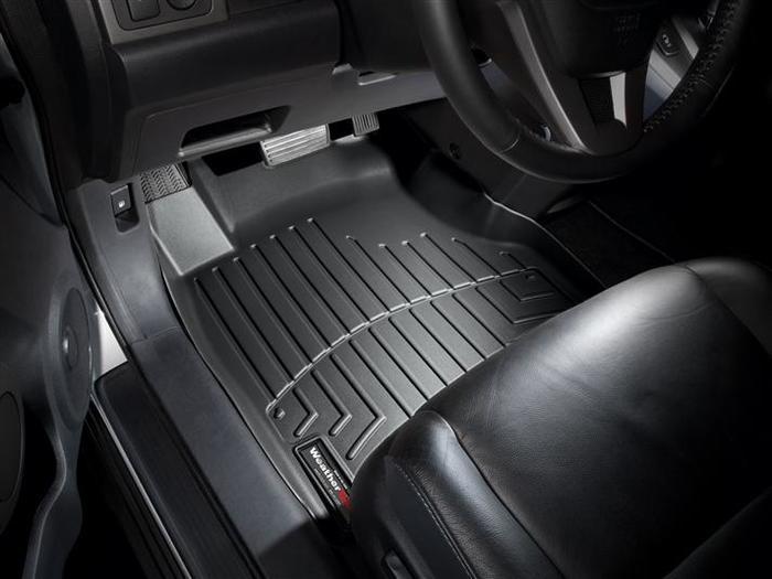 WeatherTech DigitalFit Floor Mats for 2007-2011 Honda CR-V [Covers Front, Black] (WEA94837)