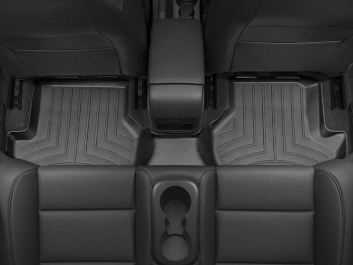 WeatherTech DigitalFit Floor Mats for 2007-2016 Volkswagen Eos [Covers Rear, Black] (WEA94681)