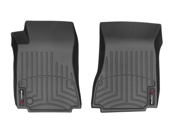 WeatherTech DigitalFit Floor Mats for 2008-2010 Cadillac CTS [Covers Front, Black] (WEA95319)