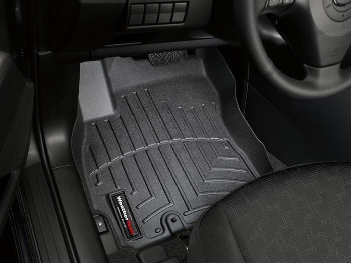 WeatherTech DigitalFit Floor Mats for 2008-2010 Mazda 5 [Covers Front, Black] (WEA94694)