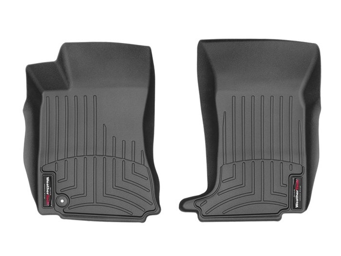 WeatherTech DigitalFit Floor Mats for 2008-2013 Cadillac CTS [Covers Front, Black] (WEA95317)