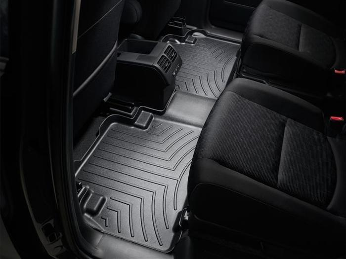 WeatherTech DigitalFit Floor Mats for 2008-2016 Mazda 5 [Covers Rear, Black] (WEA94695)