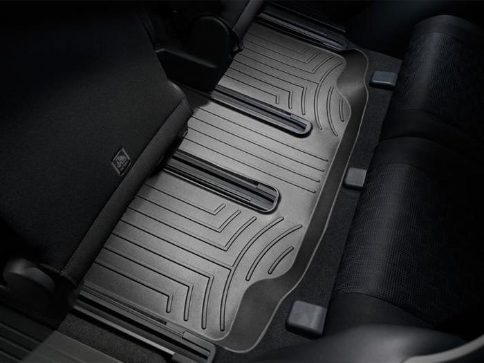 WeatherTech DigitalFit Floor Mats for 2008-2016 Mazda 5 [Covers Rear, Black] (WEA94696)