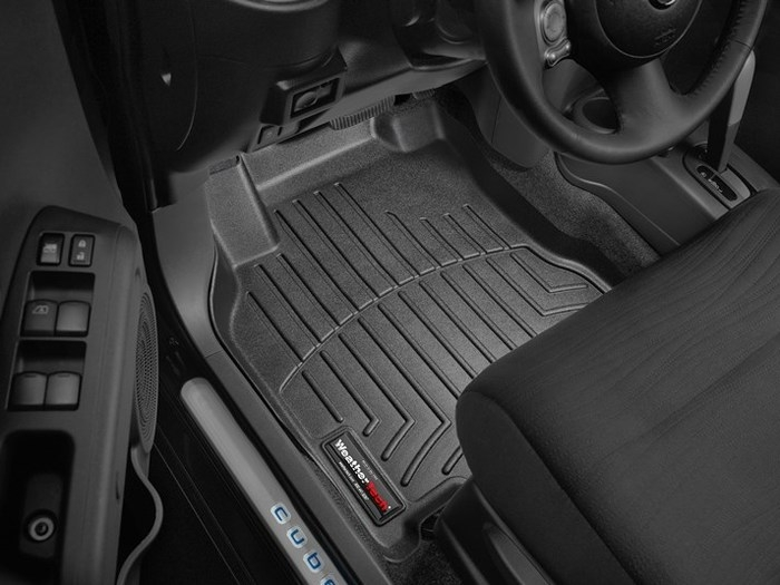 WeatherTech DigitalFit Floor Mats for 2009-2014 Nissan Cube [Covers Front, Black] (WEA94660)