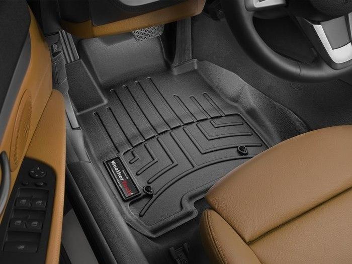 WeatherTech DigitalFit Floor Mats for 2009-2016 BMW Z4 [Covers Front, Black] (WEA95339)