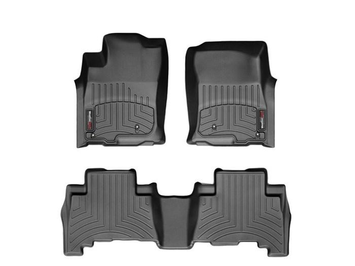 WeatherTech DigitalFit Floor Mats for 2010-2011 Toyota 4Runner [Covers Front & Rear, Black] (WEA94963)