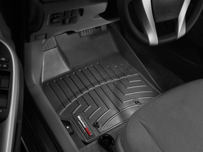 WeatherTech DigitalFit Floor Mats for 2010-2011 Toyota Prius [Covers Front, Black] (WEA94646)