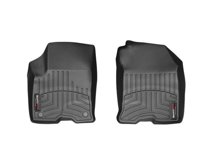WeatherTech DigitalFit Floor Mats for 2010-2012 Ford Focus [Covers Front, Black] (WEA94786)