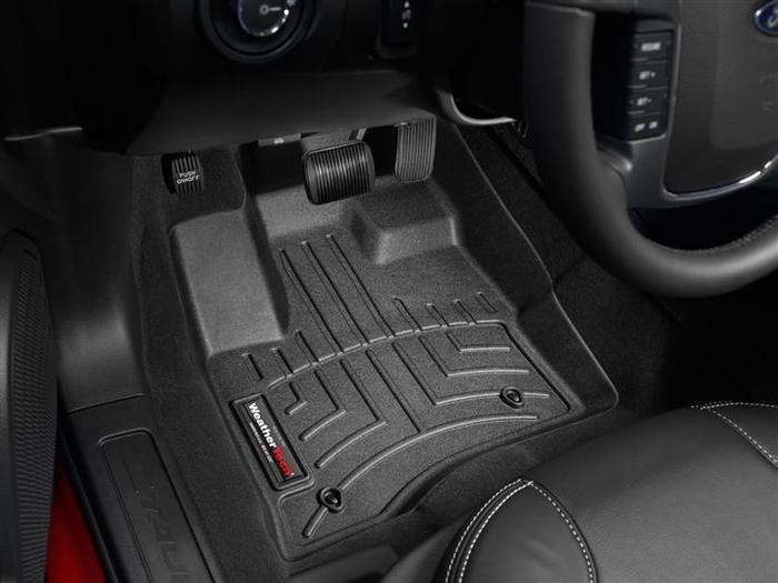 WeatherTech DigitalFit Floor Mats for 2010-2012 Ford Taurus [Covers Front, Black] (WEA94683)