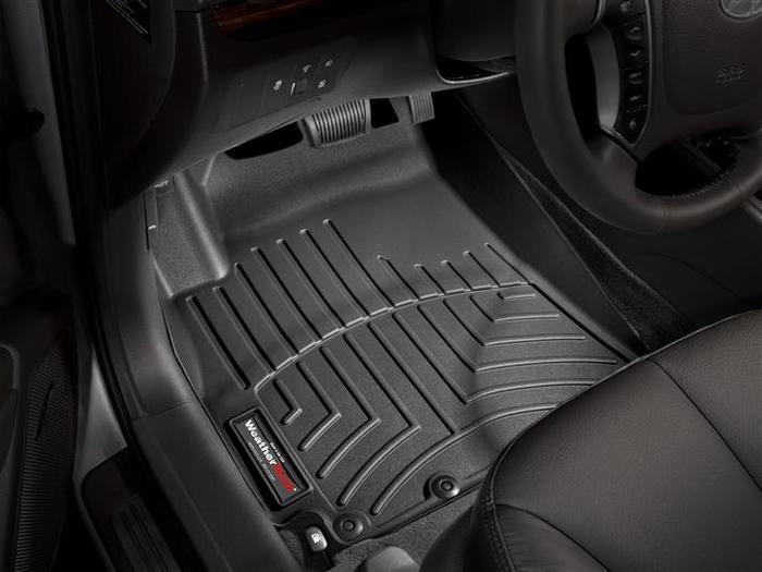 WeatherTech DigitalFit Floor Mats for 2010-2012 Hyundai Santa Fe [Covers Front, Black] (WEA94775)