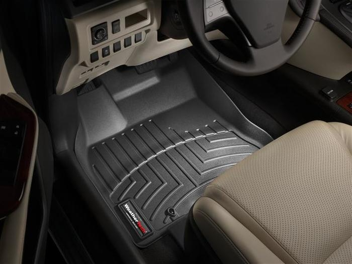 WeatherTech DigitalFit Floor Mats for 2010-2012 Lexus HS250h [Covers Front, Black] (WEA94717)