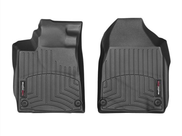 WeatherTech DigitalFit Floor Mats for 2010-2013 Acura ZDX [Covers Front, Black] (WEA95362)