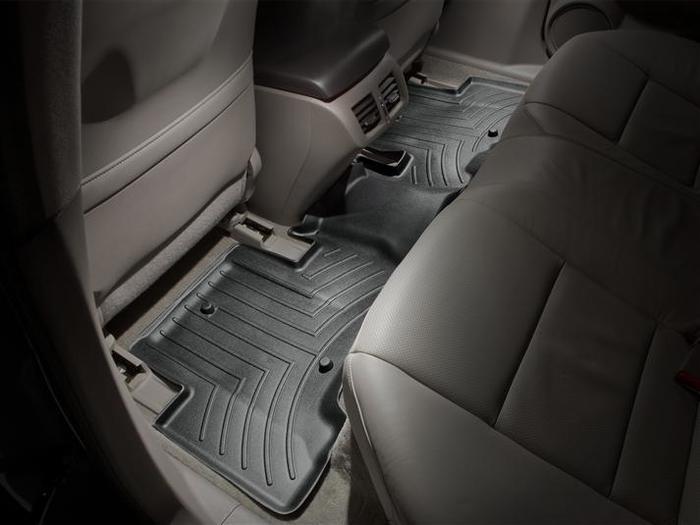 WeatherTech DigitalFit Floor Mats for 2010-2013 Acura ZDX [Covers Rear, Black] (WEA94740)