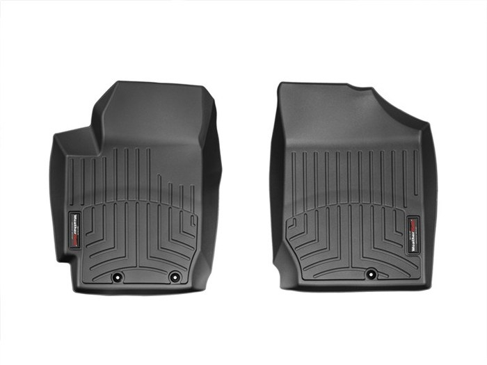 WeatherTech DigitalFit Floor Mats for 2010-2013 Kia Forte Koup [Covers Front, Black] (WEA95012)
