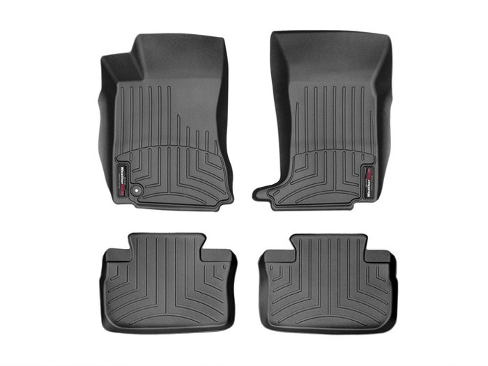 WeatherTech DigitalFit Floor Mats for 2010-2014 Cadillac CTS [Covers Front & Rear, Black] (WEA95318)
