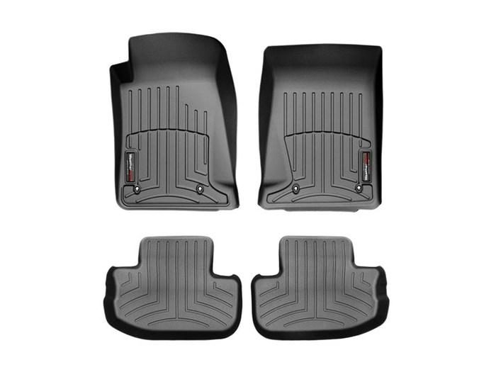WeatherTech DigitalFit Floor Mats for 2010-2015 Chevrolet Camaro [Covers Front & Rear, Black] (WEA94675)