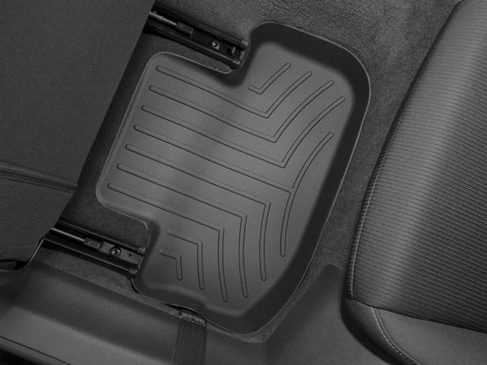 WeatherTech DigitalFit Floor Mats for 2010-2015 Chevrolet Camaro [Covers Rear, Black] (WEA94677)