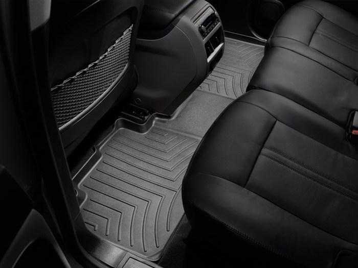 WeatherTech DigitalFit Floor Mats for 2010-2016 Cadillac SRX [Covers Rear, Black] (WEA94710)