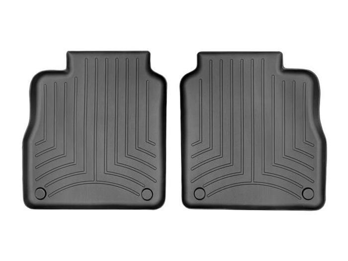 WeatherTech DigitalFit Floor Mats for 2010-2016 Porsche Panamera [Covers Rear, Black] (WEA94652)
