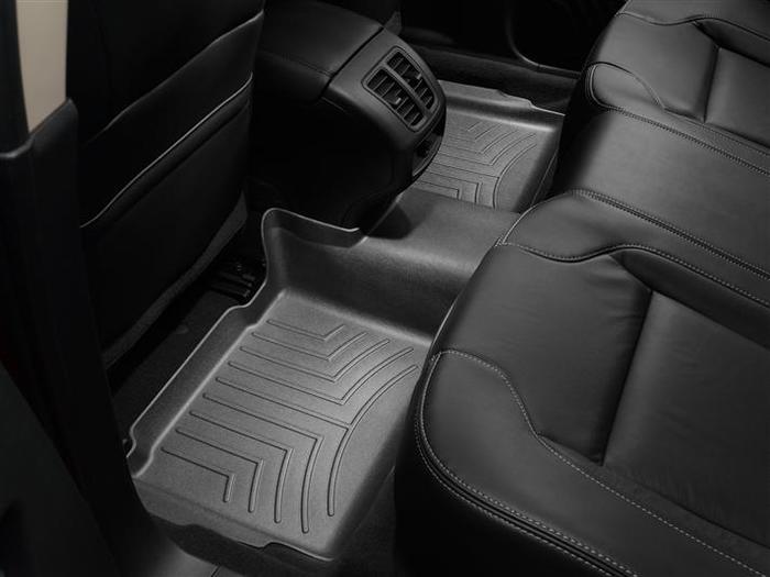 WeatherTech DigitalFit Floor Mats for 2010-2017 Ford Taurus [Covers Rear, Black] (WEA94684)