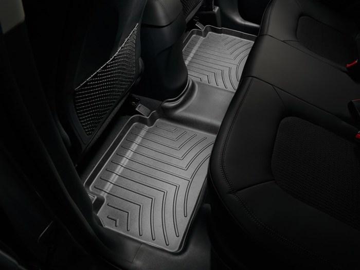 WeatherTech DigitalFit Floor Mats for 2010 Hyundai Tucson [Covers Rear, Black] (WEA94750)