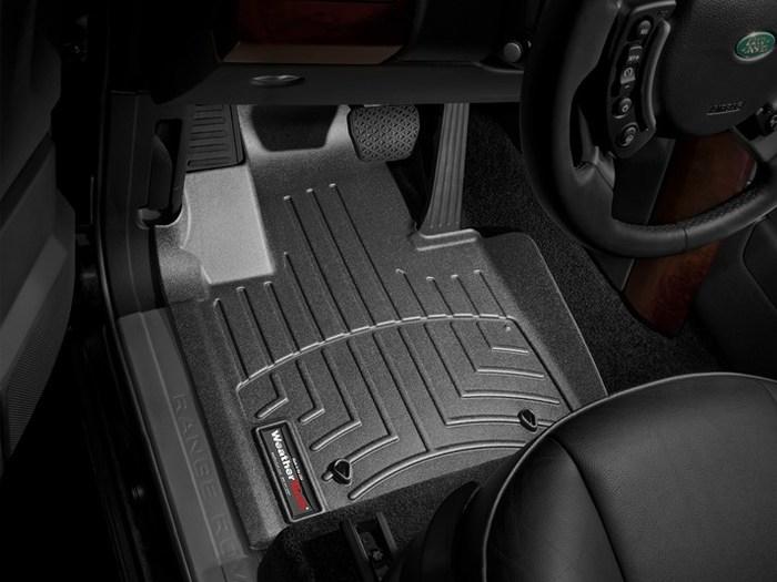 WeatherTech DigitalFit Floor Mats for 2010 Land Rover Range Rover [Covers Front, Black] (WEA94744)