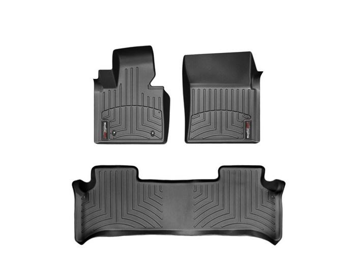 WeatherTech DigitalFit Floor Mats for 2010 Land Rover Range Rover [Covers Front & Rear, Black] (WEA94743)