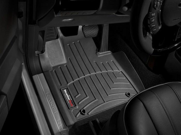 WeatherTech DigitalFit Floor Mats for 2011-2012 Land Rover Range Rover [Covers Front, Black] (WEA94893)