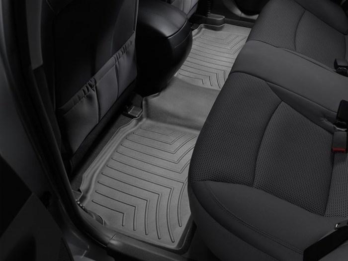 WeatherTech DigitalFit Floor Mats for 2011-2014 Hyundai Sonata [Covers Rear, Black] (WEA94769)