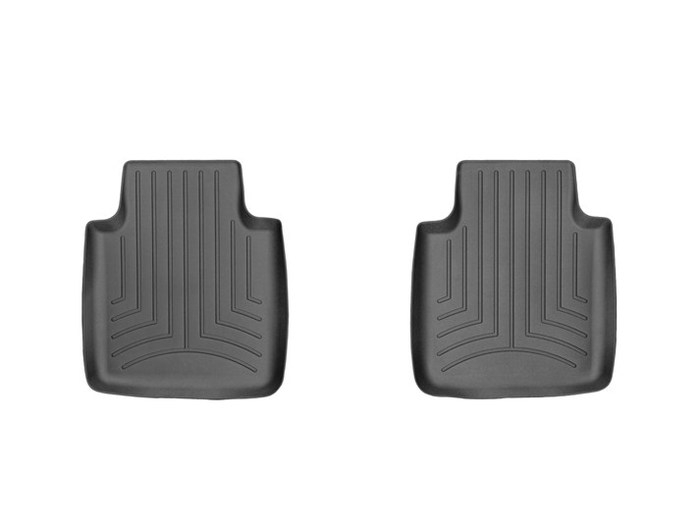 WeatherTech DigitalFit Floor Mats for 2011-2014 Jaguar XJ [Covers Rear, Black] (WEA95151)