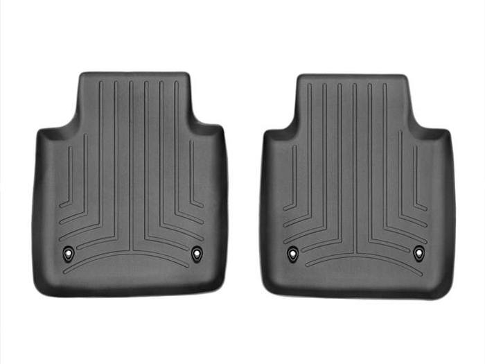 WeatherTech DigitalFit Floor Mats for 2011-2014 Jaguar XJ [Covers Rear, Black] (WEA95153)