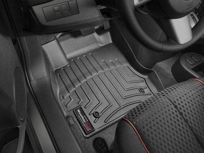 WeatherTech DigitalFit Floor Mats for 2011-2014 Mazda 2 [Covers Front, Black] (WEA94690)