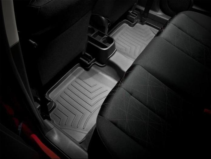 WeatherTech DigitalFit Floor Mats for 2011-2014 Mazda 2 [Covers Rear, Black] (WEA94691)