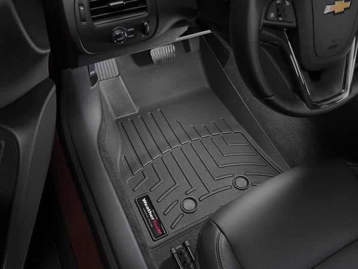 WeatherTech DigitalFit Floor Mats for 2011-2015 Chevrolet Volt [Covers Front, Black] (WEA95333)