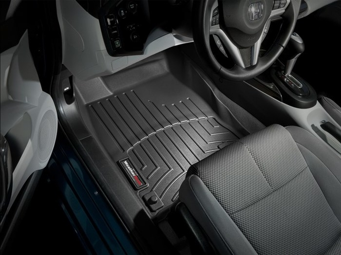 WeatherTech DigitalFit Floor Mats for 2011-2015 Honda CR-Z [Covers Front, Black] (WEA94889)