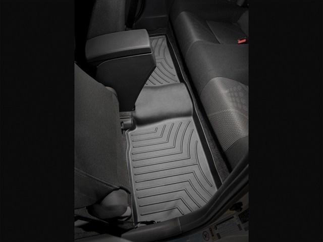 WeatherTech DigitalFit Floor Mats for 2011-2016 Scion tC [Covers Rear, Black] (WEA94916)